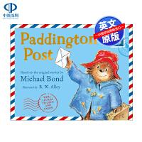 现货 帕丁顿熊的邮件 英文原版绘本 Paddington's Post 精装 儿童绘本纸板书 帕丁顿熊的英国之旅 3-8