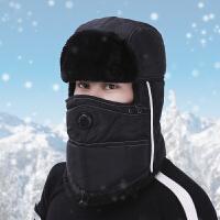 帽子男冬天户外骑车雷锋帽护耳保暖帽棉帽子