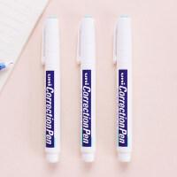 日本三菱学生用修正笔改正液无毒快干修正液涂改液修改液无痕白色