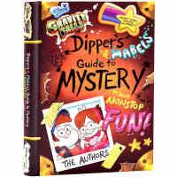 英文原版 怪诞小镇 迪普与梅宝的探秘和娱乐指南 官方设定集 Gravity Falls Dipper's and Ma