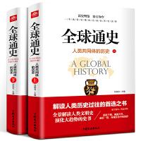 全球通史(上下册)全套 解读人类共同体的历史和世界文明史 一本通俗易懂的全面世界史读物 从史前文明至当代现代史和人类过往趋势