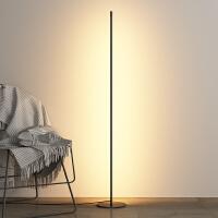 【限时7折】极简创意落地灯 卧室客厅氛围北欧简约led立灯ins风轻奢立式台灯