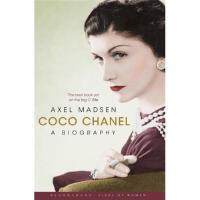 可可香奈�河⑽陌�Coco Chanel-A Biography瑕疵介意勿拍有勒痕Axel Madsen(阿克瑟��・�R德森
