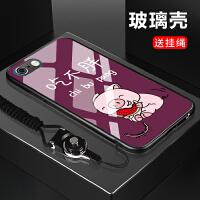 苹果6plus手机壳i6sp玻璃爱疯彩绘ipone6Splus壳子6spius个性i6p男女ipho 苹果6plus
