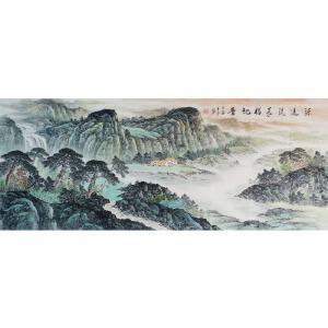 八尺  源远流长福地香    职业画家  王平