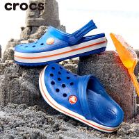 Crocs卡骆驰童鞋女夏季3-12岁儿童凉拖卡骆班小克骆格儿童凉鞋男童包头洞洞鞋|204537