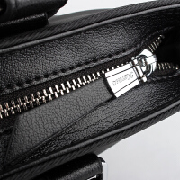 男包新款公文包潮男士商务手提包单肩包斜挎包包715-2