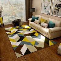 欧式地毯客厅沙发茶几垫卧室满铺床边长方形简约现代田园美食家用 2米x3米【加厚防滑 可水洗 送地垫】