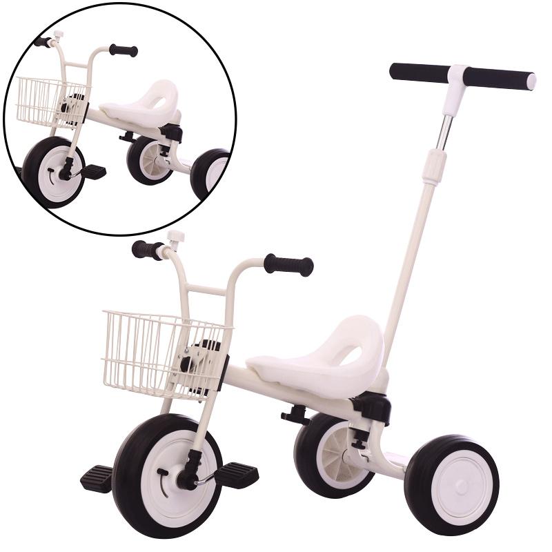 儿童三轮车1-3-4-2-6岁大号小车子宝宝脚踏车折叠轻便小孩脚蹬车