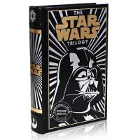 现货 英文原版 Star Wars Trilogy Black Leather 星球大战三部曲 黑武士达斯维达封面 小