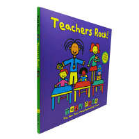 英文原版 Teachers Rock! Todd Parr 精装[4-8岁]