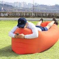 户外快速充气沙发懒人床睡袋便携空气沙发折叠水上充气床沙滩床