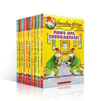 Geronimo Stilton 1-10 book 老鼠记者英文版 1-10册 正版进口章节小说彩色插图 漫画青少年冒险探险丛书系列儿童文学全球版桥梁书 赠音频
