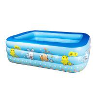 婴儿充气游泳池家用儿童宝宝小孩加厚大号款家庭戏 抖音
