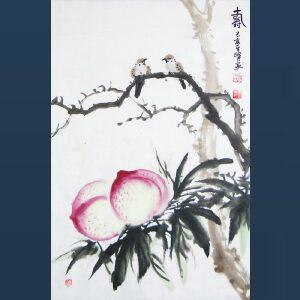 国家一级美术师   孙其峰    寿    /30