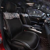 新款汽车坐垫夏季冰丝四季通用全包围车垫套座椅垫凉垫座垫蕾丝女 【五座坐垫】