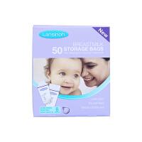 [当当自营]Lansinoh兰思诺 进口母乳储奶保鲜袋 一次性奶水储存袋180ml 50片 盒装