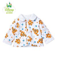 迪士尼Disney女童上衣纯棉翻领外套加厚外衣休闲保暖秋冬164S875