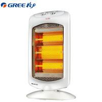 格力(GREE)远红外NSD-12-WG 节能省电 暗光不伤眼 即开即热 摇头送暖 倾倒断电 取暖器