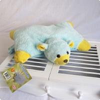 ???创意动物抱枕暖手抱枕毛绒玩具家居装饰车饰情人儿童 40厘米-49厘米