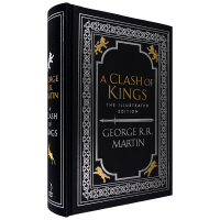 现货 冰与火之歌 第 2部 列王的纷争 权力的游戏 乔治・R・R・马丁大开本插图版 英文原版 A Clash of Ki