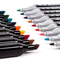 马克笔套装touch抖音同款手绘渐变色网红小学生用美术手绘设计笔画笔双头软头酒精油性绘画动漫专用168色彩笔