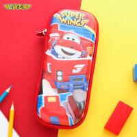 超级飞侠儿童笔袋幼儿园铅笔盒小学生男童笔盒大容量创意文具盒