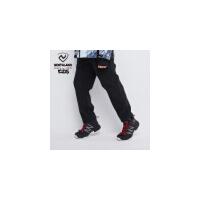 诺诗兰童裤男童加绒裤子2019冬季新款儿童软壳裤女童保暖运动裤