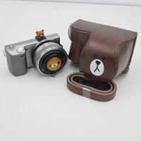 布朗熊可爱微单相机包相机套皮套索尼A5100 A6000 A6300 EOSM6 M3 a6000、A6300 NEX