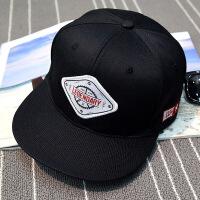 春秋街头嘻哈板帽女纯色平沿棒球帽男夏天出游韩版潮户外遮阳板帽 可调节