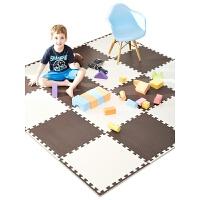 泡沫地垫拼图爬行垫儿童卧室榻榻米拼接地板垫子垫60x60 抖音