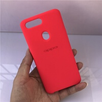 OPPO R11原装手机壳液态硅胶R11S软壳硬全包热力红保护套巴萨原机