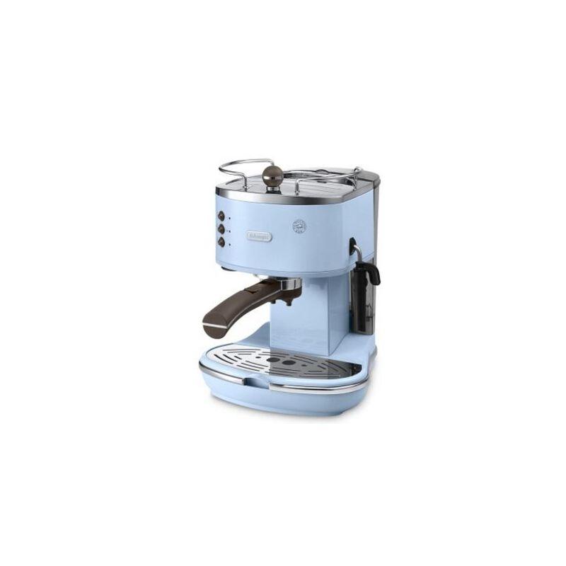 德龙(DeLonghi)ECO310 泵压式咖啡机 (淡蓝) 新品上市!Icona复古小清新经典系列