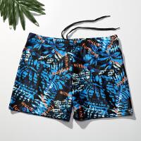 游泳装备温泉泳裤男平角宽松游泳裤男款泳衣套装大码游泳衣