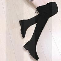 鞋子长筒靴女过膝长靴子女鞋秋冬季2018新款百搭韩版秋款高筒加绒SN1283
