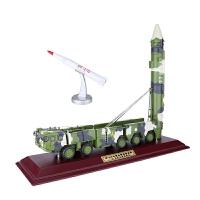 1:35东风21D导弹发射车模型合金军事战车模型摆件 退伍老兵礼品A