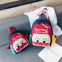 儿童包包时尚卡通面包超人可爱幼儿园宝宝轻便书包亲子背包双肩包