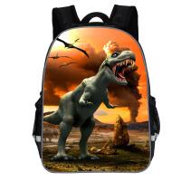 新款侏罗纪恐龙书包幼儿园中大班一二三年级恐龙男孩5-6-7岁背包