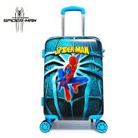 儿童行李箱卡通旅行箱男童登机箱学生20寸蜘蛛 侠万向轮箱包行李