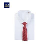 HLA/海澜之家时尚婚庆领带2018秋季新品经典男士领带