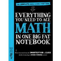 【现货】英文原版 汇总自美国中学生的课堂笔记:初中数学 Everything You Need to Ace Math