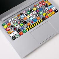 macbook苹果mac电脑Air笔记本15保护贴膜12键盘贴纸11按键贴pro13寸键位贴键盘膜