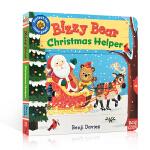 【发顺丰】英文原版 Bizzy Bear Christmas Helper 忙碌的小熊系列 圣诞老人 Merry Ch