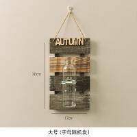 墙壁装饰挂件壁挂水培花瓶房间装饰品创意家居餐厅卧室墙面挂饰品