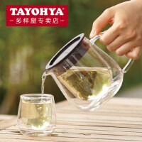 TAYOHYA多样屋 乐朗双层耐热玻璃水壶 透明水杯 咖啡杯系列
