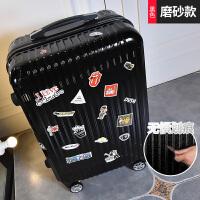 学生行李箱小清新拉杆箱包万向轮密码旅行箱轮子复古个性24寸男女