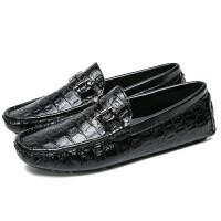 豆豆鞋男士休闲皮鞋秋冬季韩版潮流潮鞋加绒保暖英伦商务棉鞋