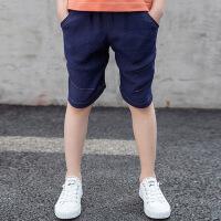 【减30元券后价:15.9】纽豆男孩短裤男童裤子夏天外穿薄款中大童休闲裤