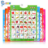 有声挂图1-2岁男宝宝玩具益智力开发小女孩子0到3周岁以下女童BB