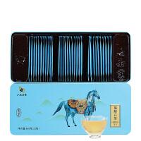 八马茶叶 新品白茶福鼎白茶寿眉白茶私享独立小包装160g(32包)